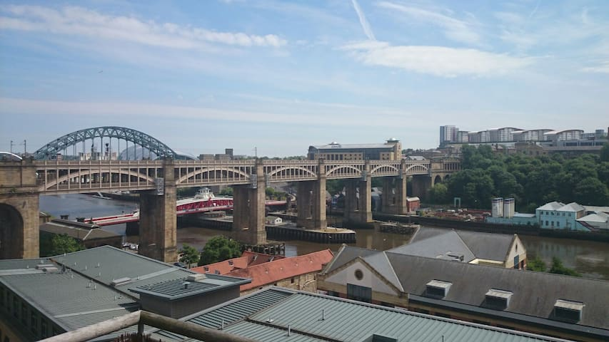 Modern & Spacious City Centre Apartment - Newcastle upon Tyne - Appartement