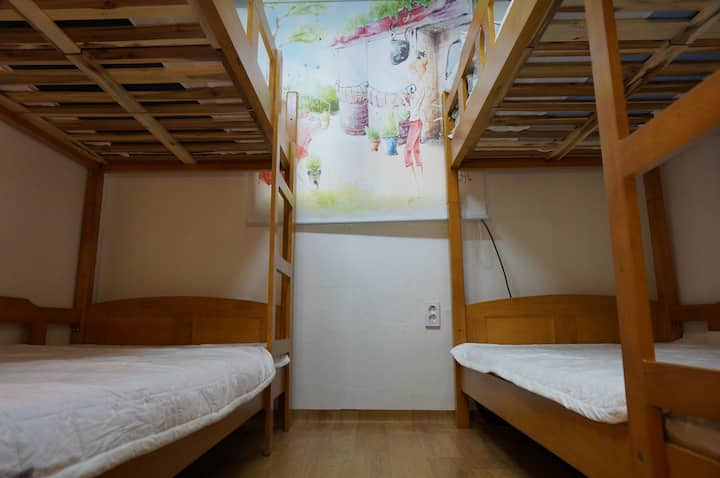 Cheap 4PAX  dormi room @Korea Univ.