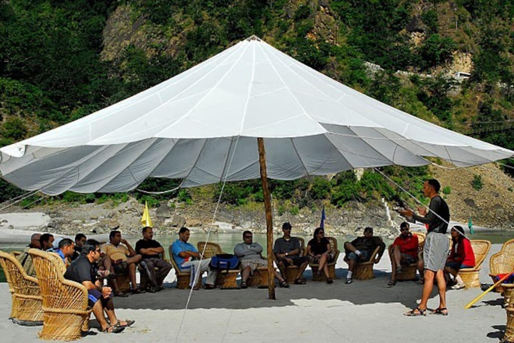 The Camp 5 Elements,  Rishikesh