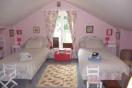 Chambres dans maison de maître - Nozay