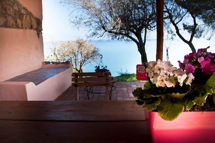 Affascinante casa vista mare / house sea view - Cefalù - Huvila