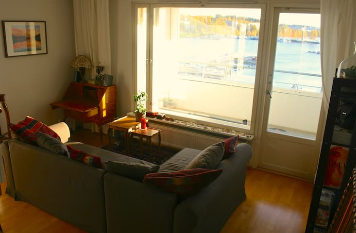Amazing view, comfy flat with sauna - Kuopio - Appartement