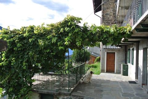 Tranquilla casetta nella Valle del Bitto