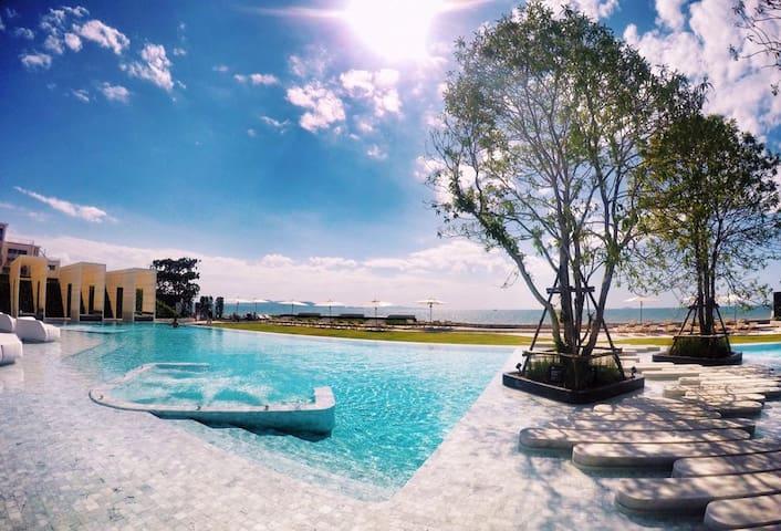 3BR Seaview/HighFloor/ Veranda Pattaya