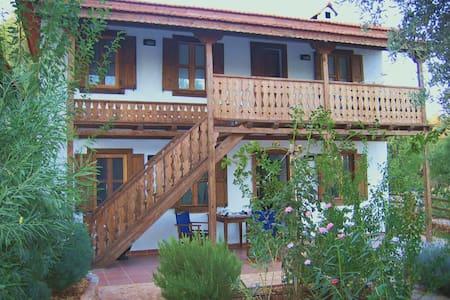 2-bedroom village house with pool - Çukurbağ