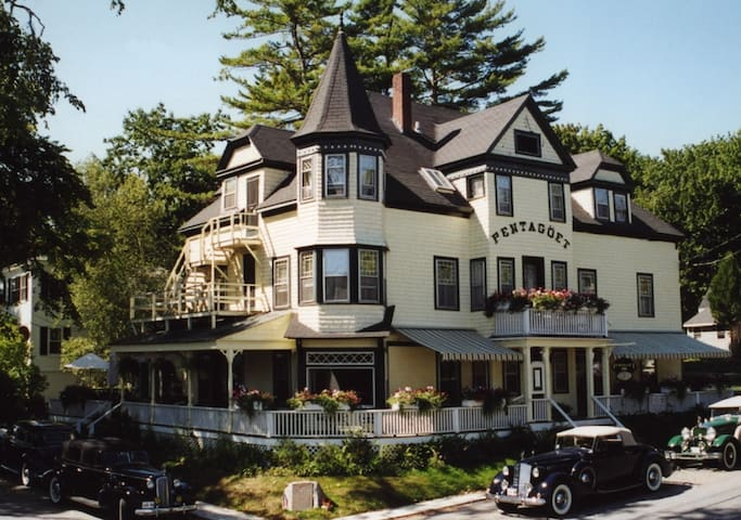 Pentagoet Inn and Restaurant - Castine - Bed & Breakfast