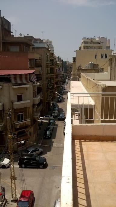 View on Mar Mikhael streets