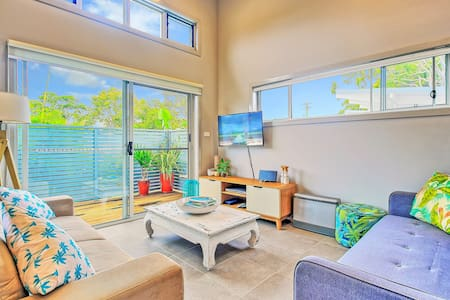 Large Private Deck c/w BBQ | 2min Walk to Beach - 赫斯基森(Huskisson) - 别墅
