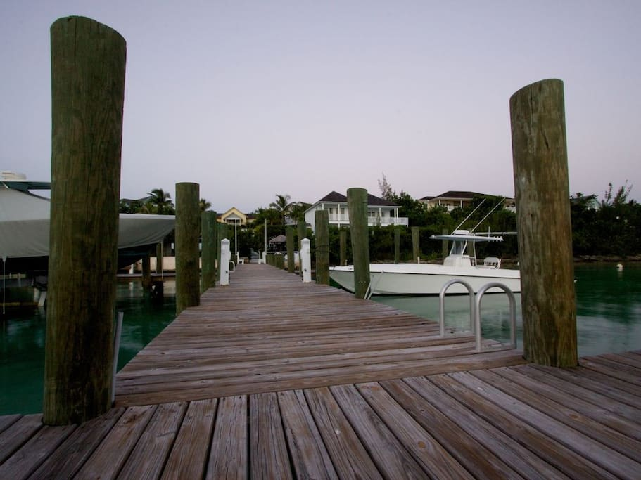 Sunset Harbour Estate Private Dock