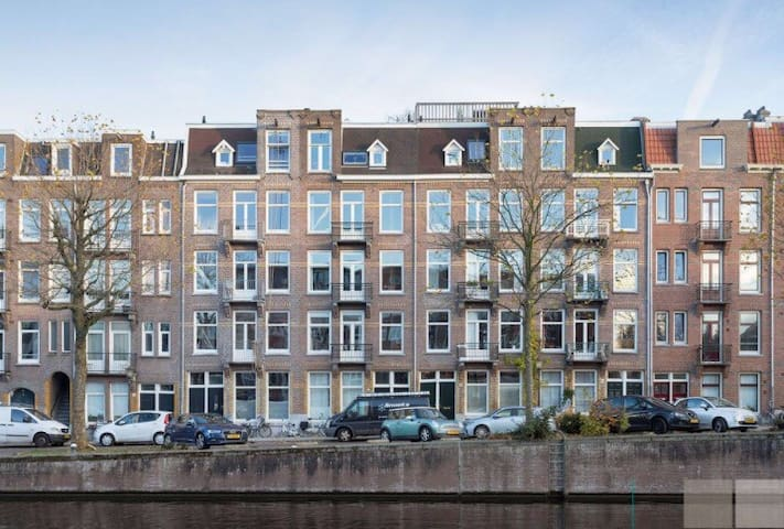 Nice apartment with canal view,  nearby Vondelpark