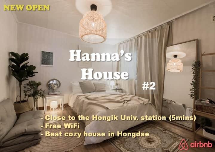 [💕#2] 5min Hongik Stn/ Forest Park COZY house!!