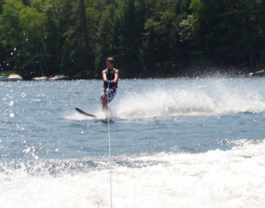Enjoy family recreation on Squam Lake