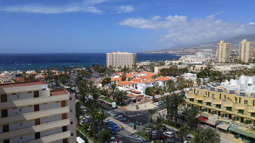 Studio, swimming pool, terrace, tennis court,ocean - Santa Cruz, Teneriffa