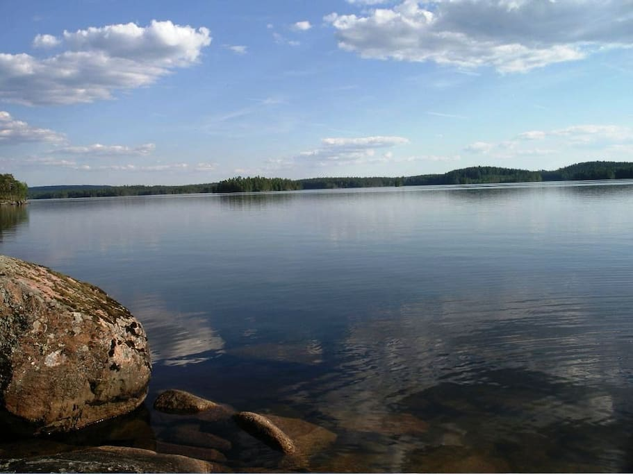 Sjön  på 350 meter