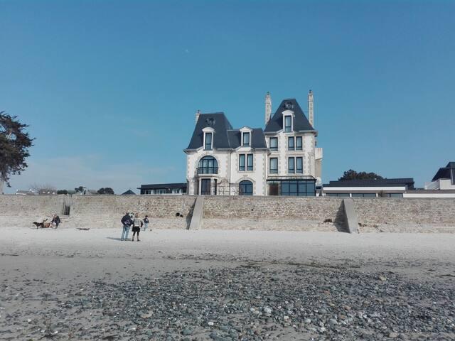 Château de Saint-Samson chambre n°2 vue mer