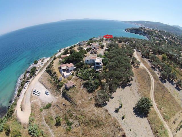 panoramic sea  (denize sıfır muhtesem manzara) - İnecik Köyü - Apartment