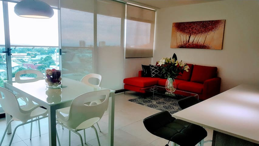 New 3 Bedroom Condo in Sabana- Mountain+City Views