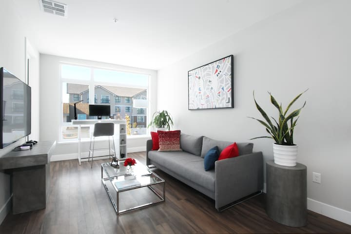 TRIBE ❤️ Deep Cleaned 🧽 Cozy 1BR @ Mountain View