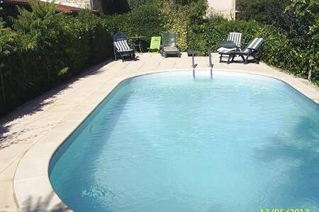 gite st michel avec piscine en Drôme des collines - Montchenu - Natuur/eco-lodge