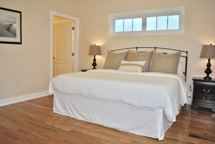 1st Floor Master Bedroom with 2 Nightstands