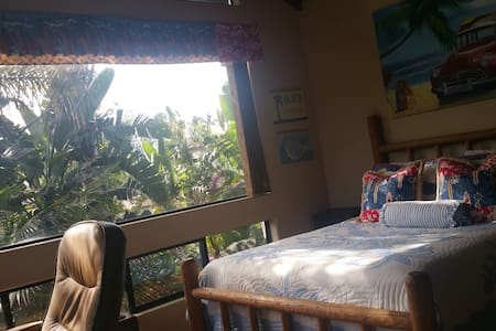 Aloha Tropical Oasis, Walk to Beach - Encinitas - Haus