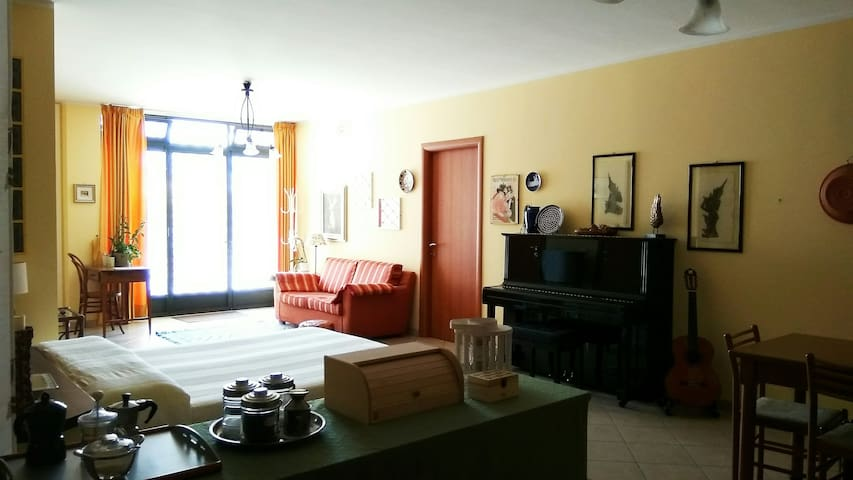 Comfortable and fully equipped studio flat