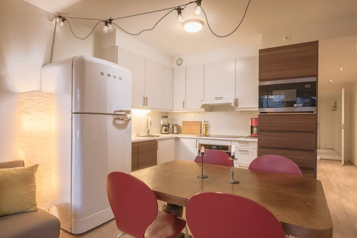 Chic, central apt near the sea, pro handled - Bergen - Apartment