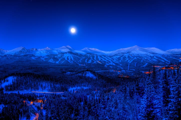 Breckenridge is located in Colorado's oldest and largest town in Summit Count.