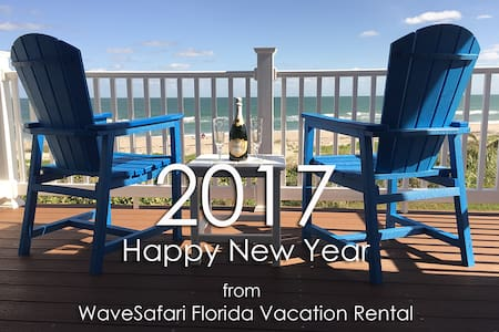 WaveSafari Direct Oceanfront Luxury Townhouse - Indialantic