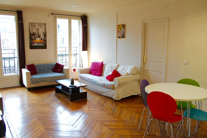 Cosy room in large apartment in the heart of Paris - Paříž - Byt