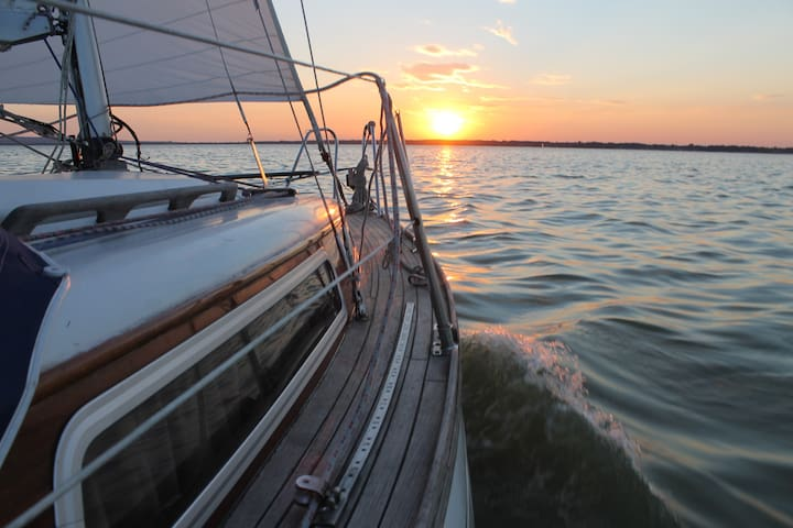 traumhaftes übernachten auf der Segel Yacht - Wunstorf - Łódź
