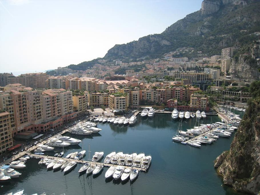 The Port of Fontvieille