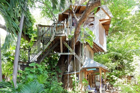 Treehouse Canopy Room: Permaculture Farm