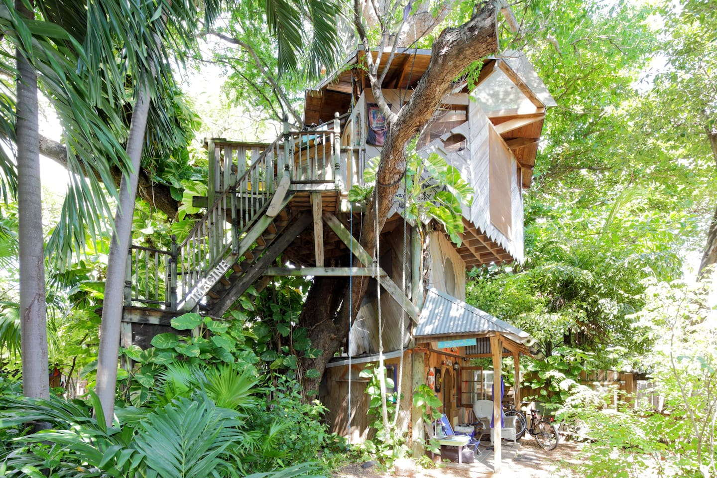 Treehouse full view