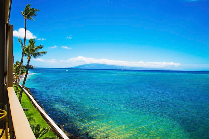 MAUI DIRECT OCEAN FRONT FOR REAL! - Lahaina - Apto. en complejo residencial