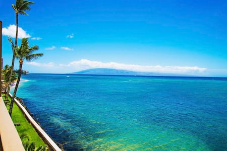 MAUI DIRECT OCEAN FRONT FOR REAL! - Lahaina - Departamento