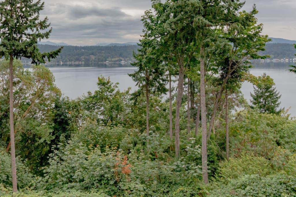 breathtaking lake view