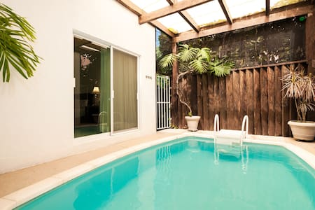 Private pool house up to 5 people - Playa del Carmen