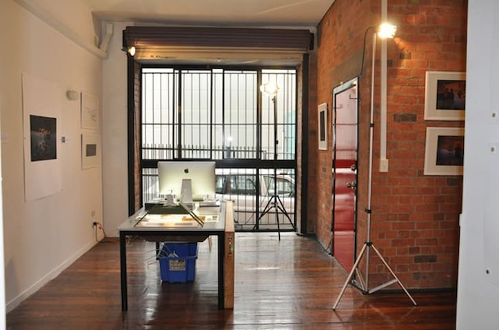 """Brixton Six"" - Brick warehouse apartment retreat"