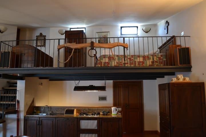 Lo Studio Loft Gaiole in Chianti - Gaiole In Chianti - Çatı Katı