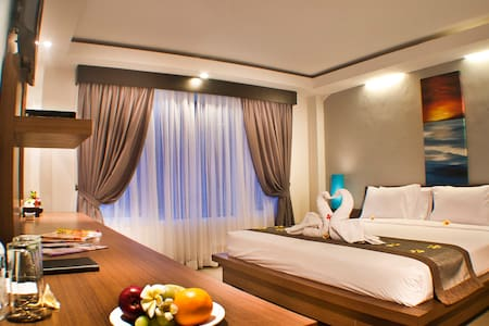 A lux room in the center of Kuta