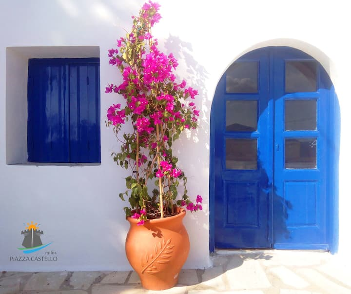 Cosy place in the center of Plaka, Milos island