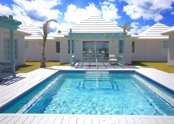Brand New Luxury Beachfront Estate w/ Heated Pool
