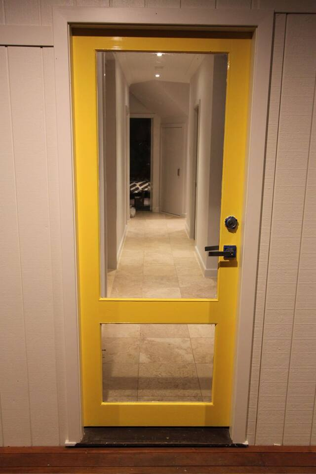 The Yellow door welcome to a great beach house
