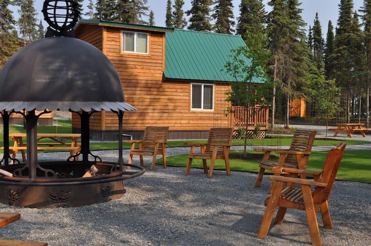 Alaska Kenai River Fishing Lodge Loft