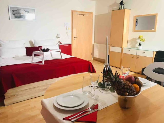 1-Zimmer-Apartment  1-Room-Apartment