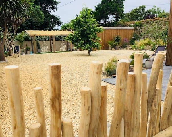 Jardin terrasses