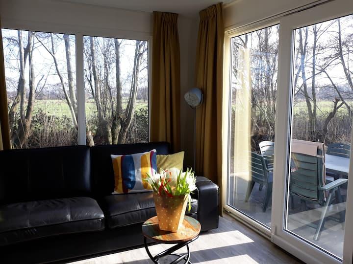 Terschelling - Midsland luxe chalet WadAnders.