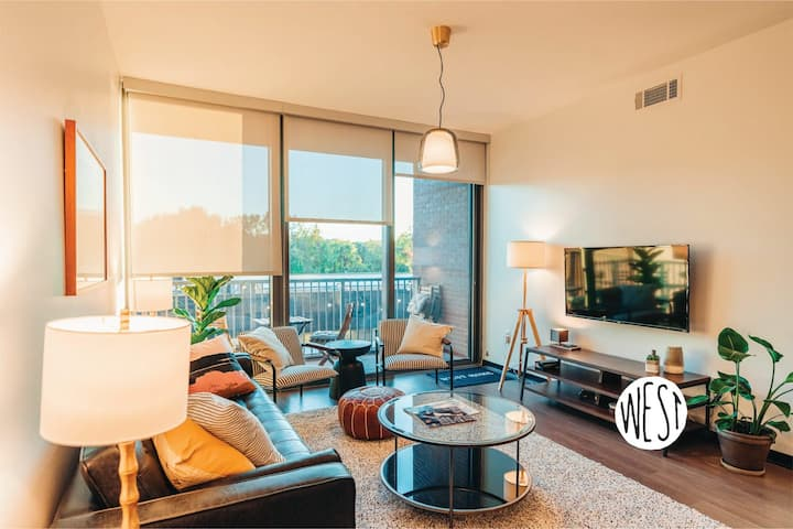 West Home | Hotel Style Suite w/ Gym, Heated Pool, Cozy Bed #Groups