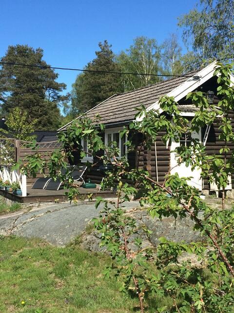Idyllisk feriebolig ytterst på Nøtterøy